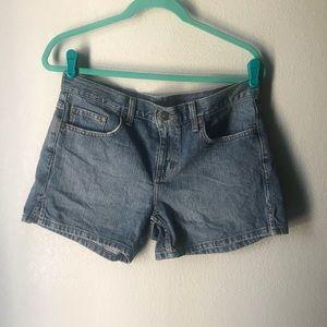 Calvin Klein Medium Denim Was Shorts